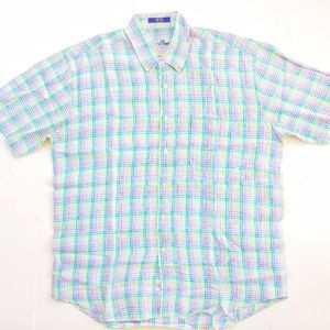 Alan Flusser Mens Shirt Linen